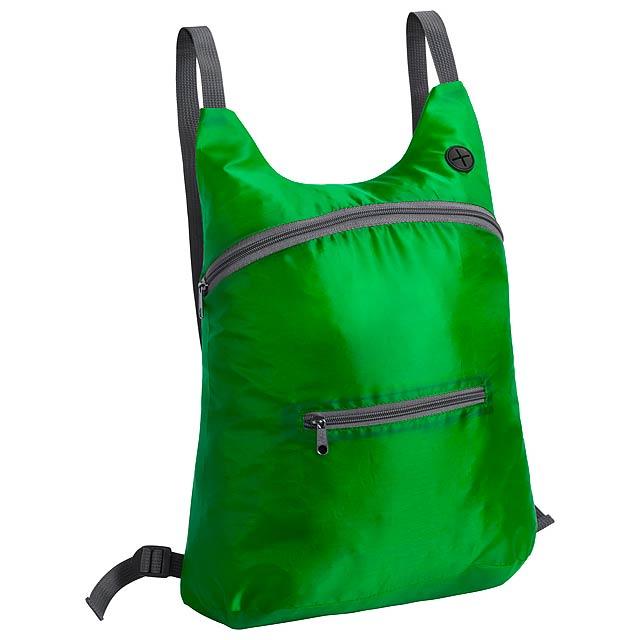 Mathis skládací batoh - zelená