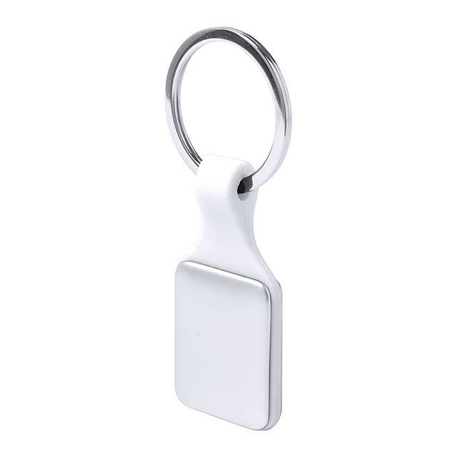 Kaelis přívěšek na klíče - bílá