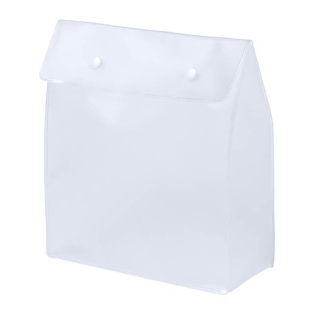 Claris kosmetická taška - bílá
