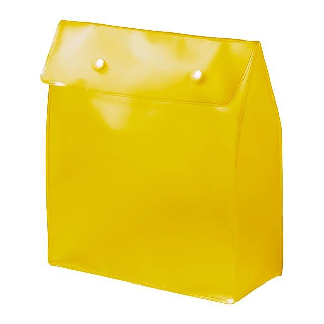 Claris kosmetická taška - žlutá