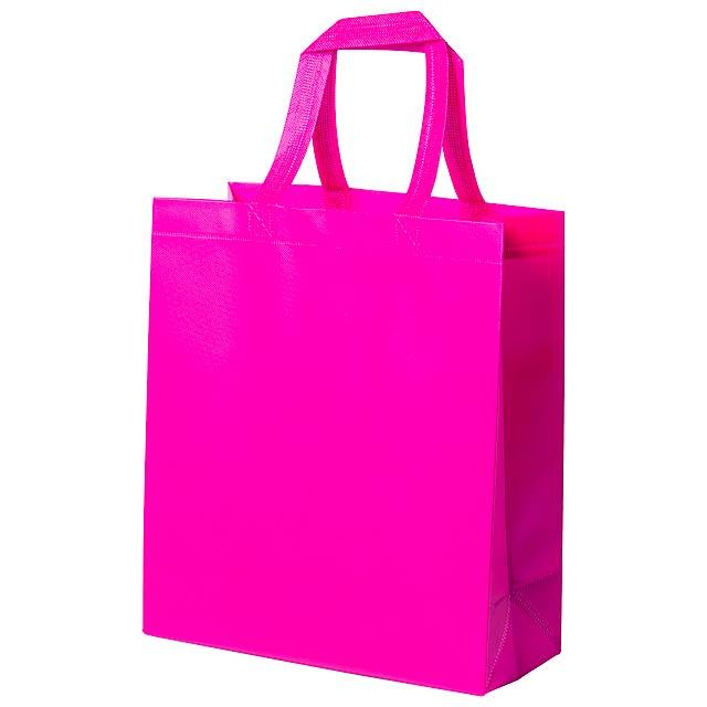 Kustal nákupní taška - fuchsiová (tm. růžová)