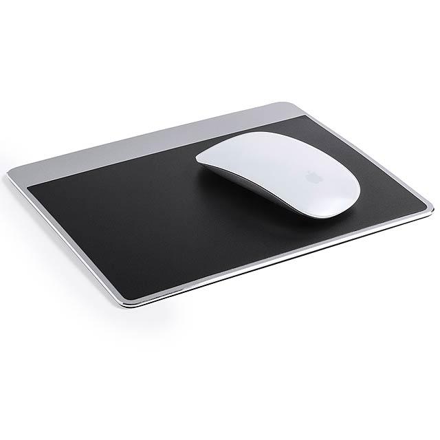 Fleybar podložka pod myš - stříbrná
