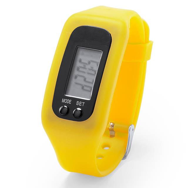 Drogon hodinky - žlutá