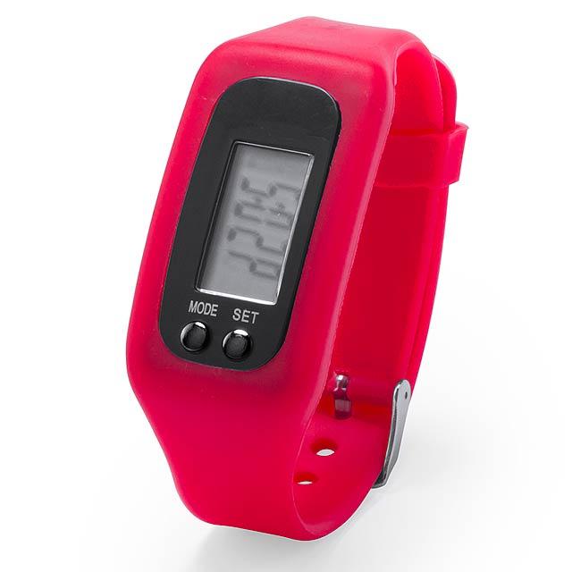 Drogon hodinky - červená
