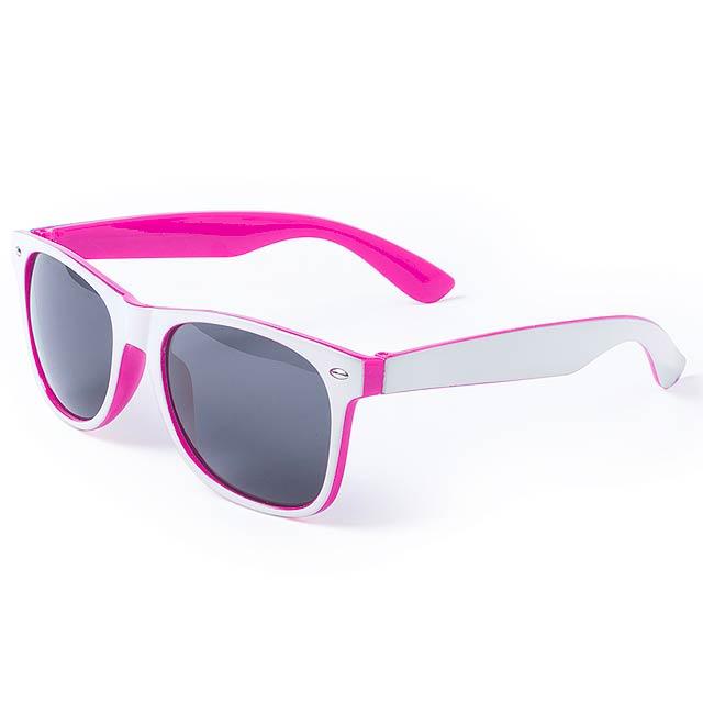 Saimon sluneční brýle - fuchsiová (tm. růžová)