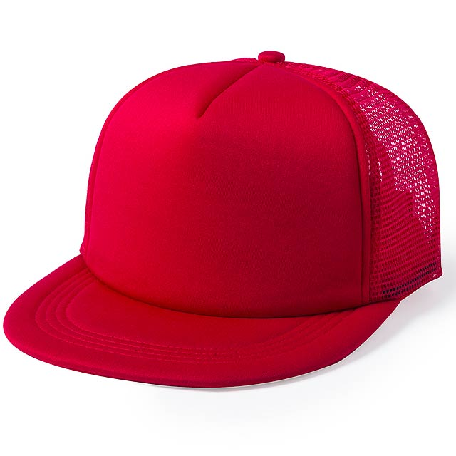 Yobs baseballová čepice - červená
