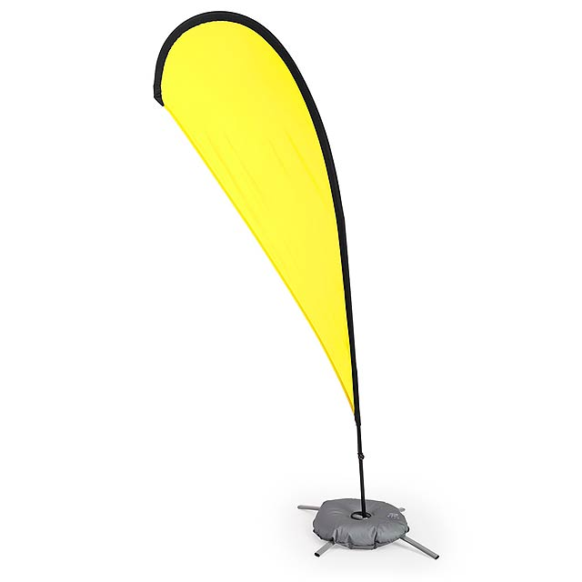 Pentho stojánek na vlajku - žlutá