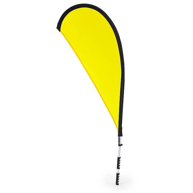 Heldex batoh na vlajku - žlutá