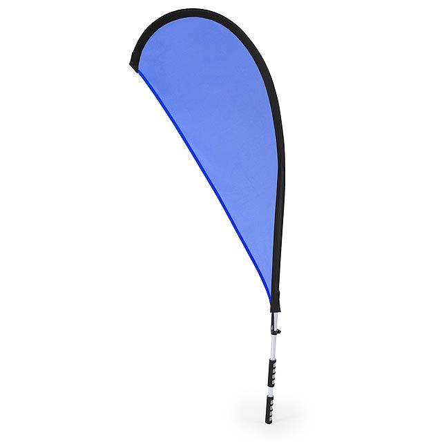Heldex batoh na vlajku - modrá
