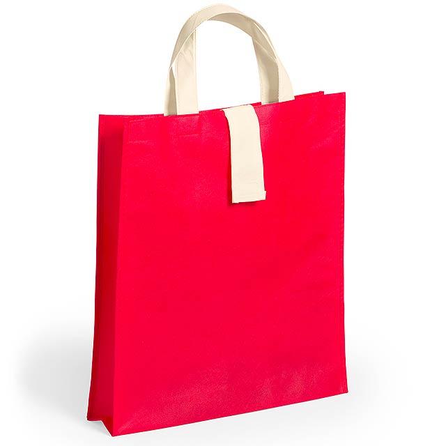 Blastar skládací nákupní taška - červená