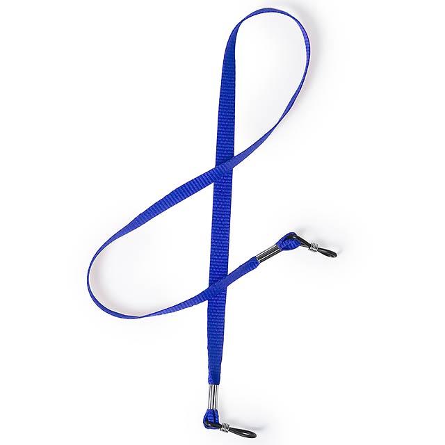 Birt šňůrka na brýle - modrá