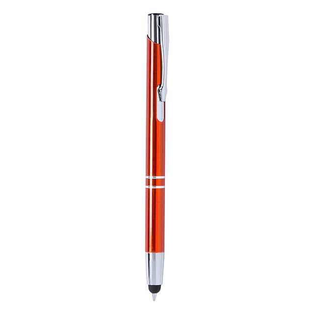 Mitch kuličkové pero - oranžová