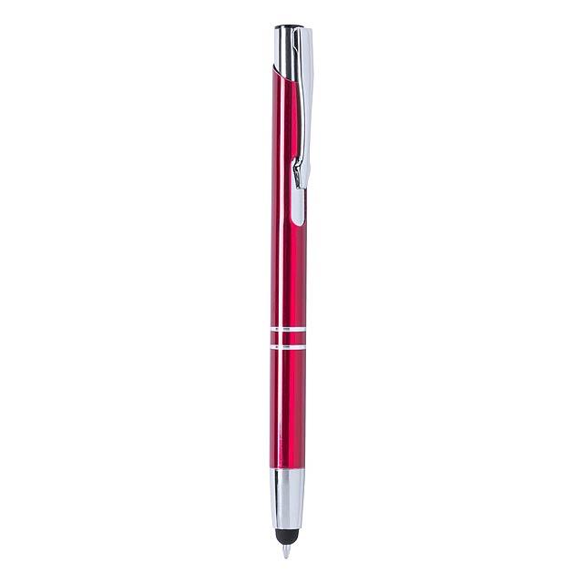 Mitch kuličkové pero - červená