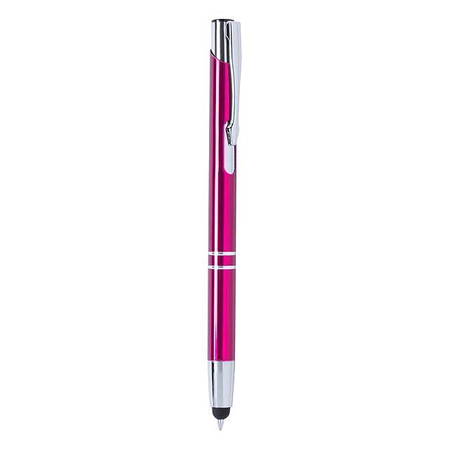 Mitch kuličkové pero - fuchsiová (tm. růžová)