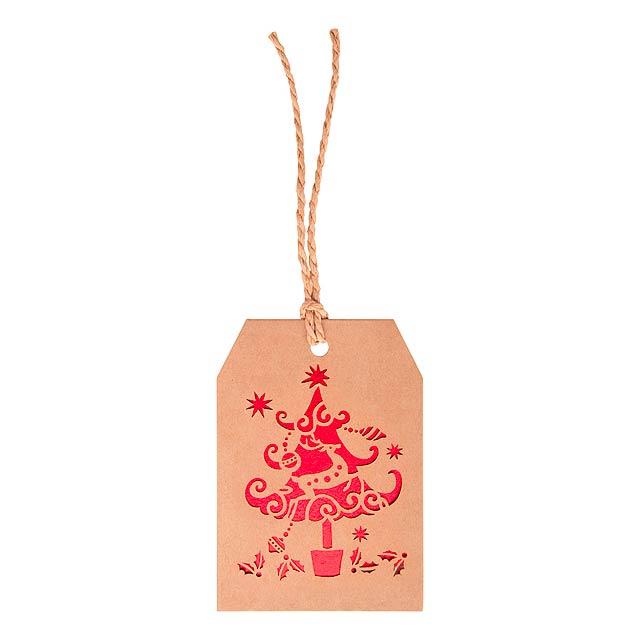 Goslak vánoční kartička - multicolor