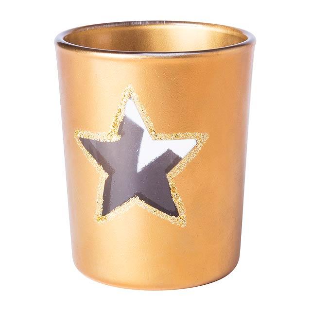 Zamir svíčka - zlatá