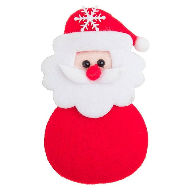 Hadock vánoční magnetka - multicolor
