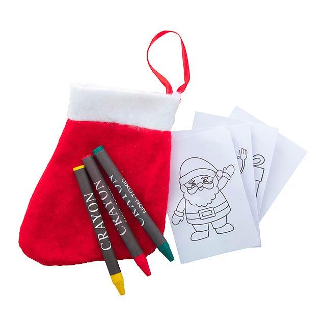 Princox vánoční omalovánky - multicolor