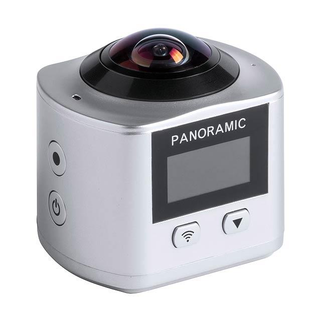 Logans 360° kamera - tmavě šedá