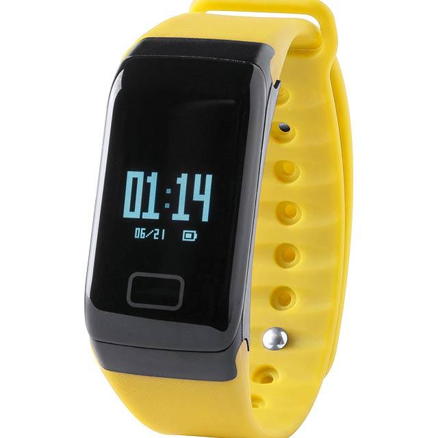 Shaul chytré hodinky - žlutá