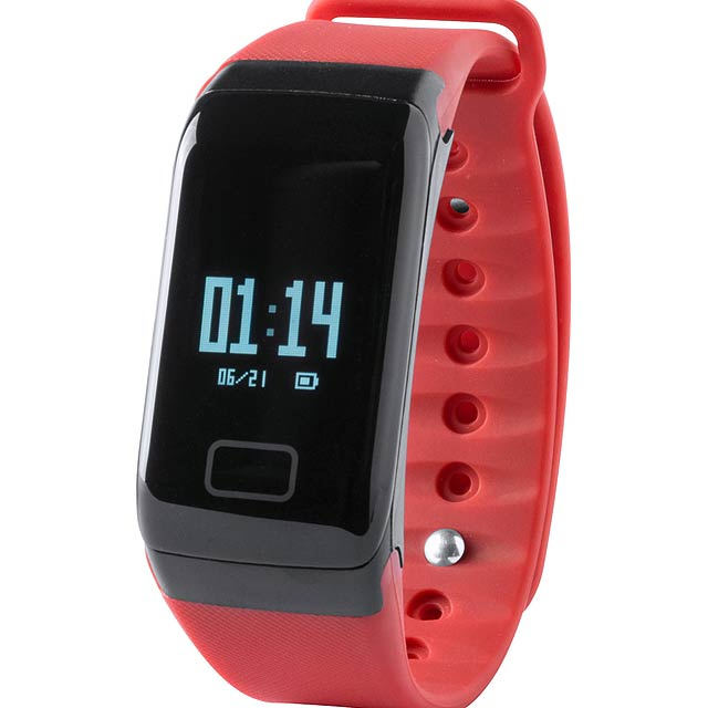 Shaul chytré hodinky - červená