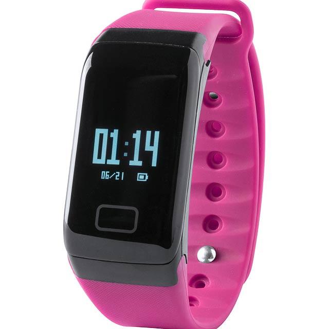 Shaul chytré hodinky - fuchsiová (tm. růžová)