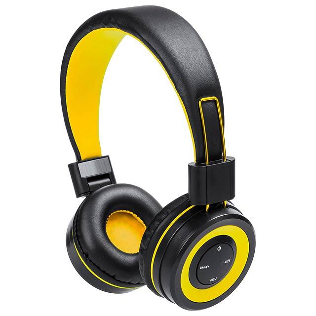 Tresor bluetooth sluchátka - žlutá
