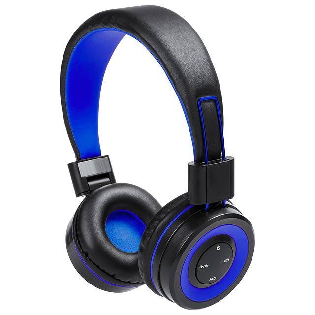 Tresor bluetooth sluchátka - modrá