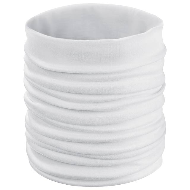 Holiam víceúčeelový šátek - bílá
