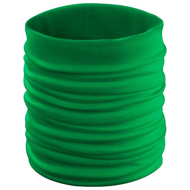 Holiam víceúčeelový šátek - zelená