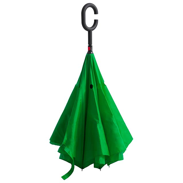 Hamfrek oboustranný deštník - zelená