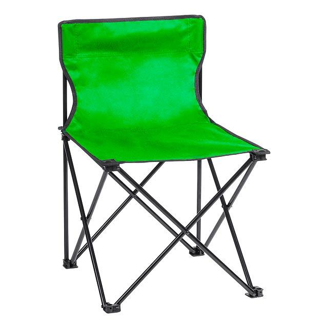 Flentul plážové křeslo - zelená