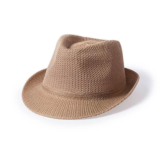 Bauwens klobouk - hnědá