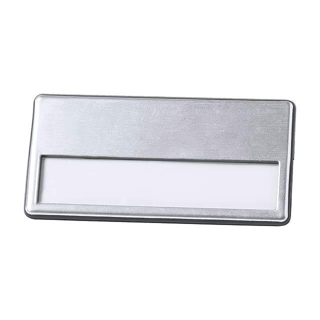 Upsin jmenovka - stříbrná