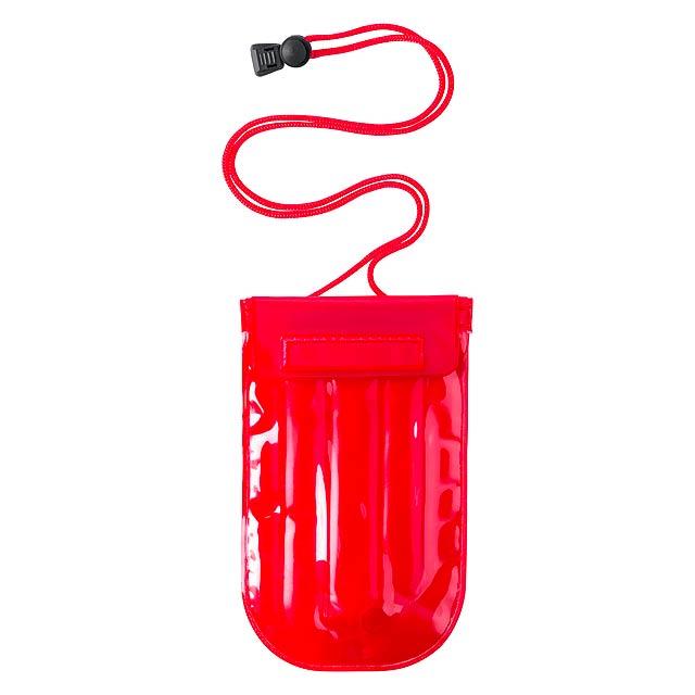 Flextar voděodolný obal na mobil - červená