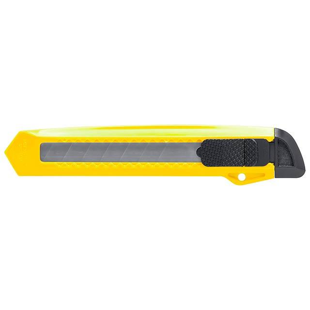 Koltom odlamovací nůž - žltá