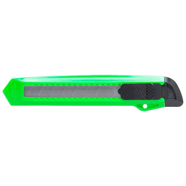 Koltom odlamovací nůž - zelená