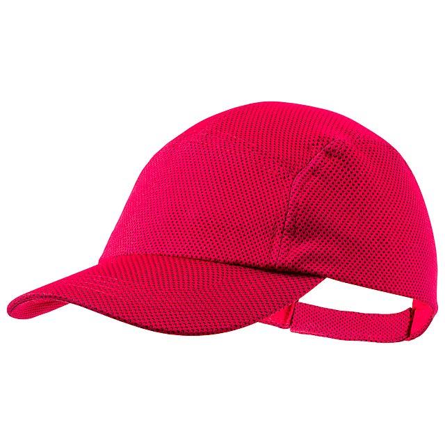 Fandol baseballová čepice - červená