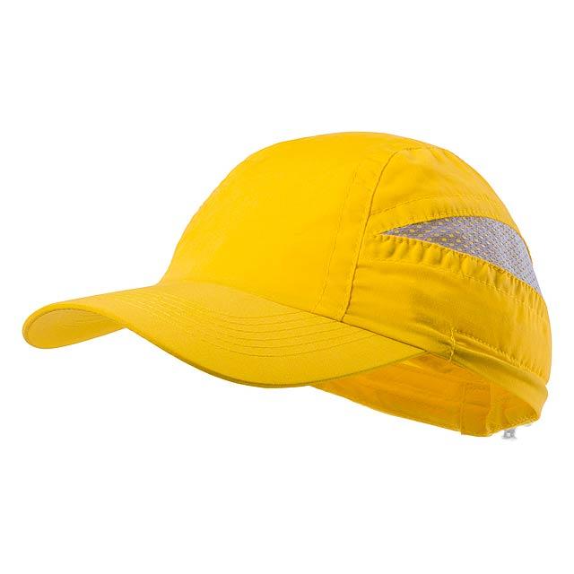 Laimbur baseballová čepice - žlutá