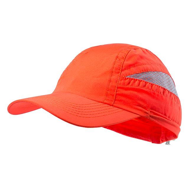 Laimbur baseballová čepice - oranžová