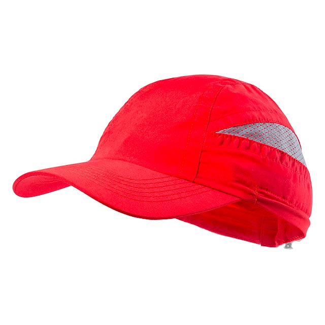 Laimbur baseballová čepice - červená
