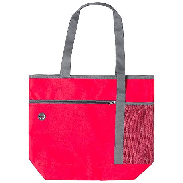Daryan plážová taška - červená