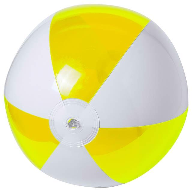 Zeusty plážový míč (ø28 cm) - žlutá