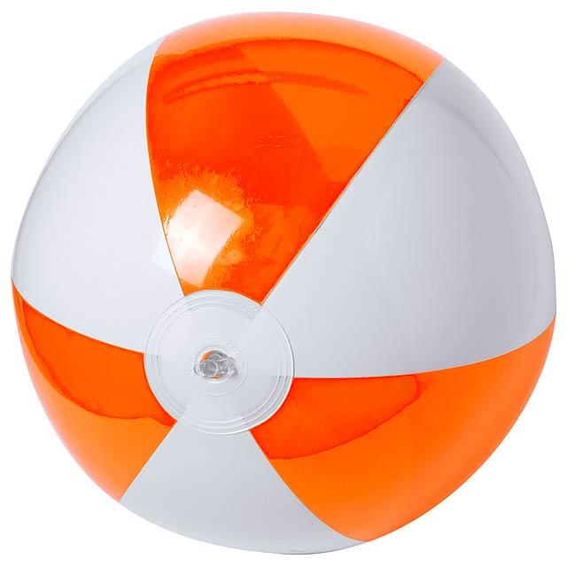 Zeusty plážový míč (ø28 cm) - oranžová
