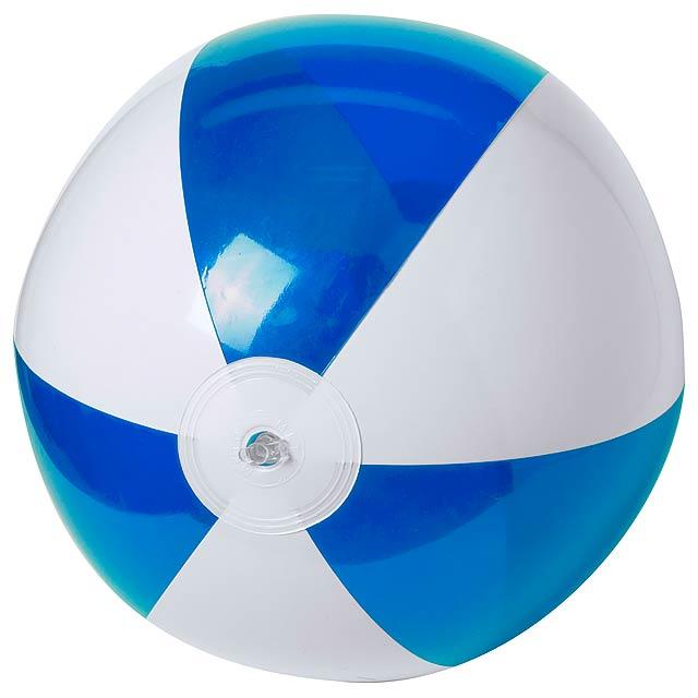 Zeusty plážový míč (ø28 cm) - modrá
