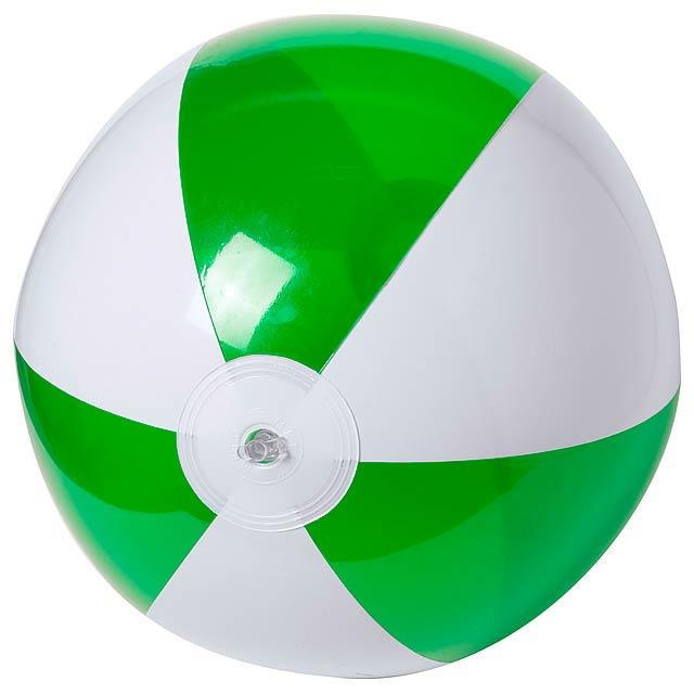 Zeusty plážový míč (ø28 cm) - zelená