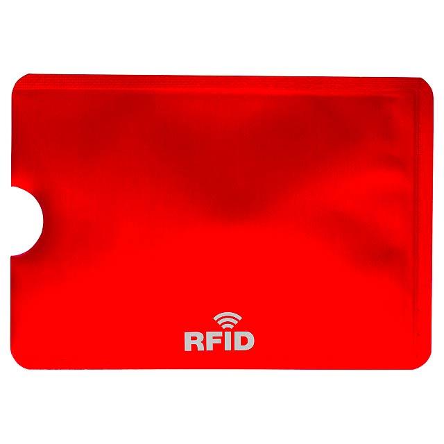 Becam obal na kreditní karty - červená