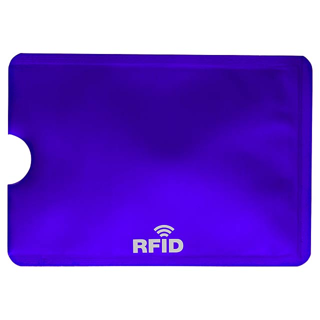 Becam obal na kreditní karty - modrá