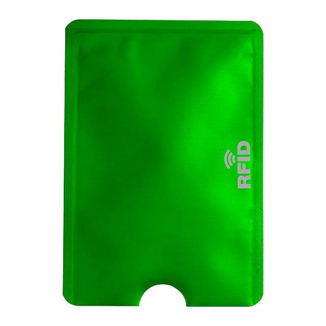 Becam obal na kreditní karty - zelená