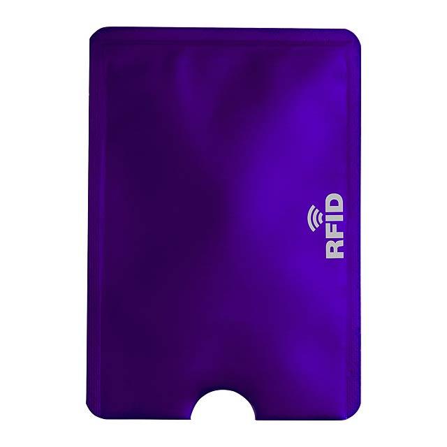 Becam obal na kreditní karty - fialová